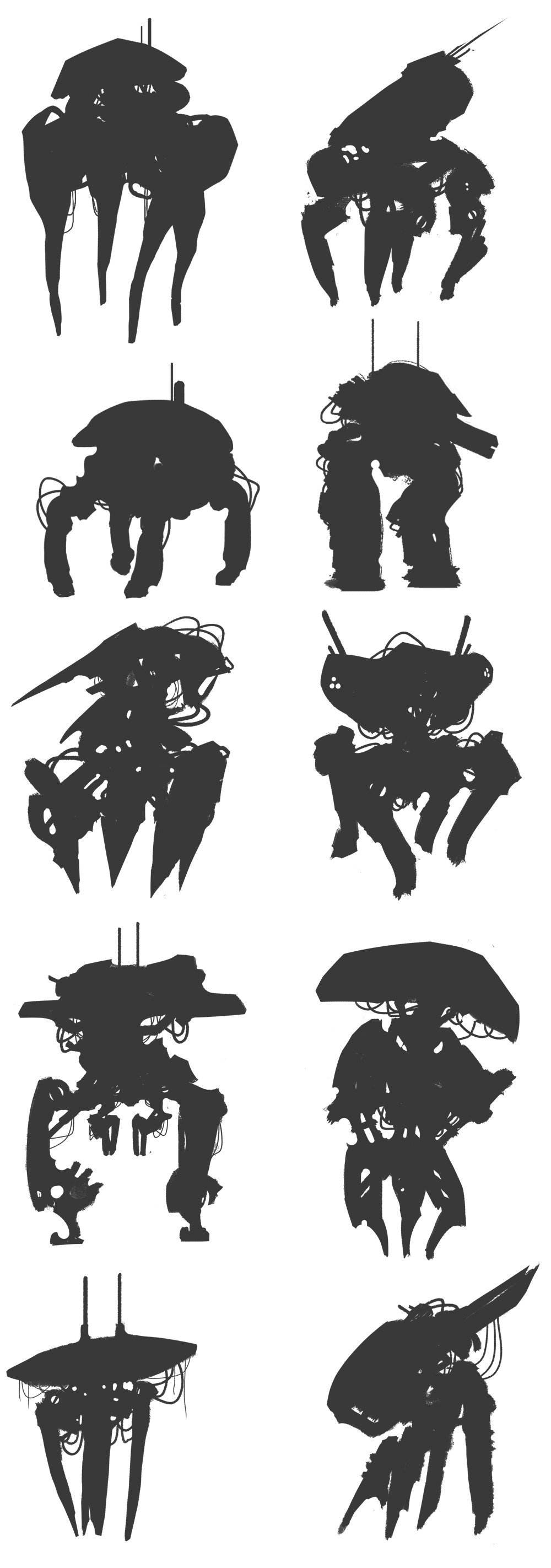 Silhouettes_Mech